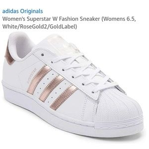 Adidas Rose Gold Superstars